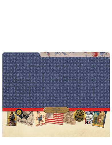 Liberty Belles File Folders