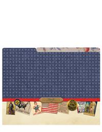 Liberty Belles Manila Folders