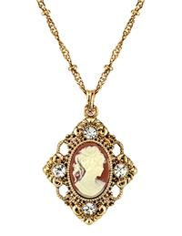 Lacey Lavinia Cameo Pendant Necklace