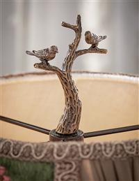 Sparrow's Perch Lamp Finial