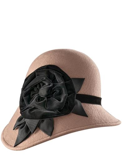 1920s Hat Styles for Women- History Beyond the Cloche Hat Kathy Jeanne Caroline Cloche $149.95 AT vintagedancer.com