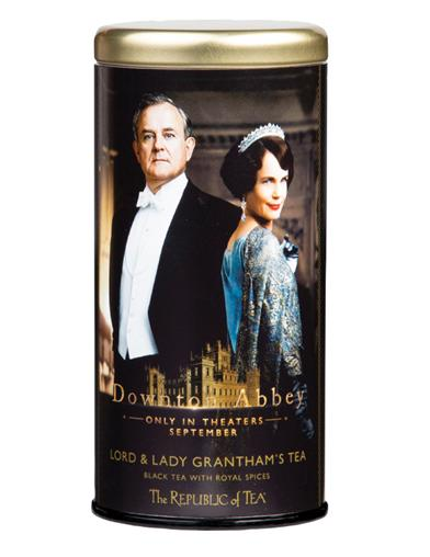 Downton Abbey Lord And Lady Grantham's Tea