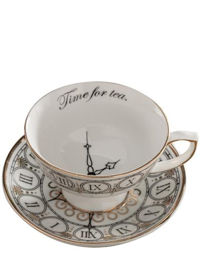 Time For Tea Cup And Saucer