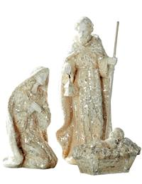 Gleaming Nativity Set