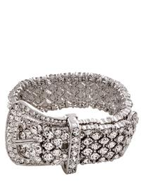 Glitz And Glamour Buckle Bracelet