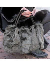 Winter Grey Handbag