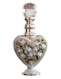 Amour Des Roses Perfume Bottle (Silver And Blue)