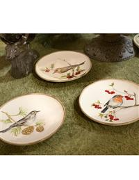 Wintertide Songbirds Plates From Gg Collection