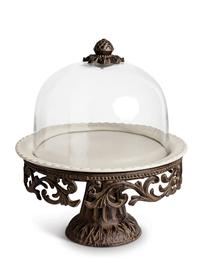 Baroque Blossoms Cake Pedestal From Gg Collection