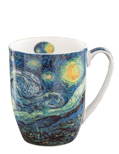 Starry Nights By Van Gogh Mugs (Set Of 2)