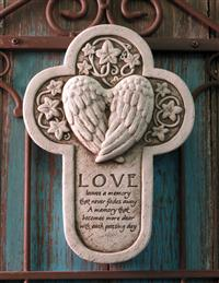 Love Leaves A Memory Plaque