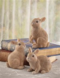 Flopsy, Mopsy, And Cottontail Figurines (Set Of 3)