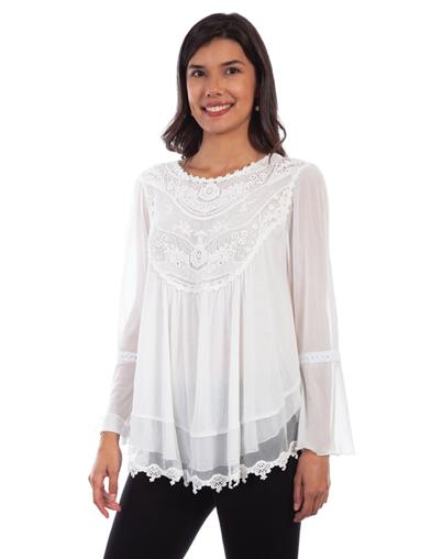 Arabella Crocheted Blouse