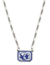 Anne Koplik Forever Bluebird Necklace