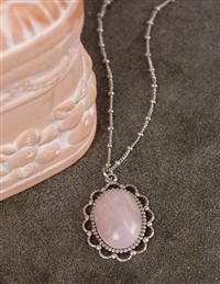 Anne Koplik Rose Quartz Necklace
