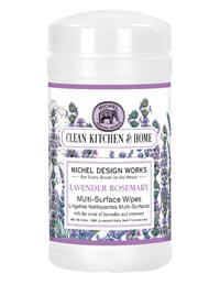 Lavender Rosemary Multi-surface Cleaning Wipes