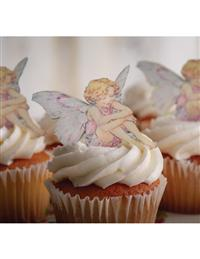 Edible Fairy Dessert Toppers (Set Of 12)