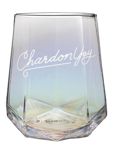 Chardonyay Stemless Wine Glass (Set Of 4)