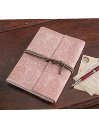 Blush Suede Journal