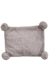 Warm Grey Plush Heating Pad