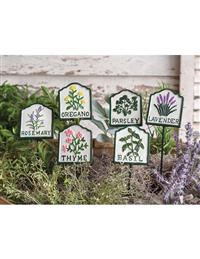 Herb Garden Stakes (Set Of Six)