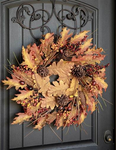 Autumn's Bounty Wreath