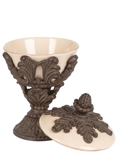 Baroque Blossom Nut Bowl From G G Collection