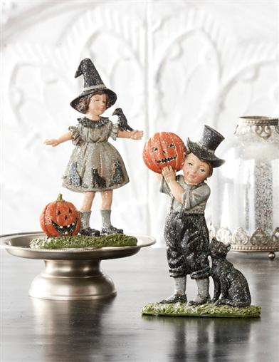 Jack & Jill Halloween Figurines