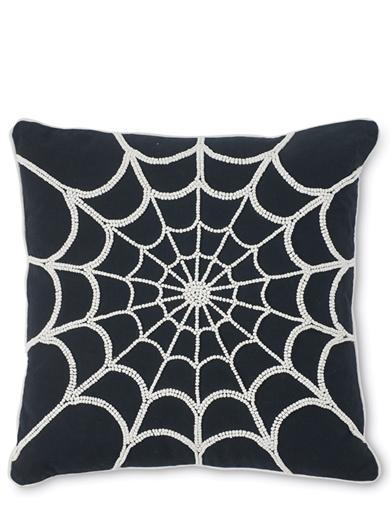 Black Widow's Web Pillow