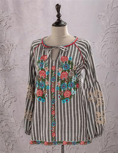 Colette Embroidered Blouse