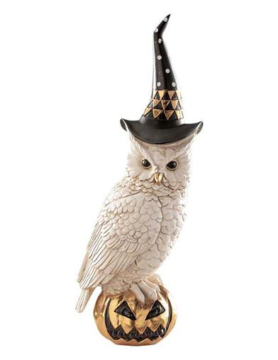 Archimedes Owl Figurine