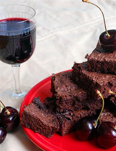 Drunken Cherry Wine Brownie Mix