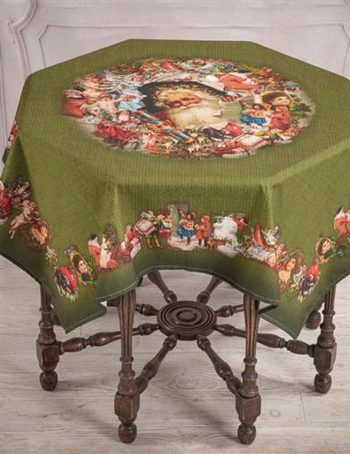 Victorian Ephemera Christmas Tablecloth
