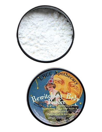 1900-1910 Edwardian Makeup and Beauty Products Bewitching Body Powder $19.95 AT vintagedancer.com