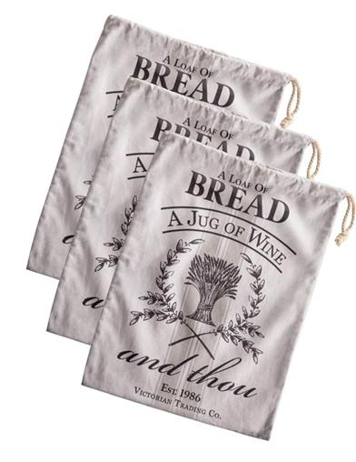 Break Bread Bags (Set Of 3)