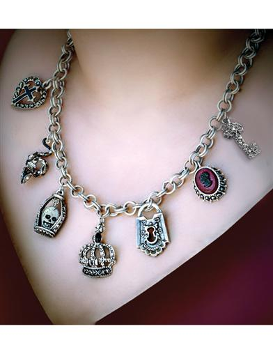 Victorian Gothic Charm Necklace