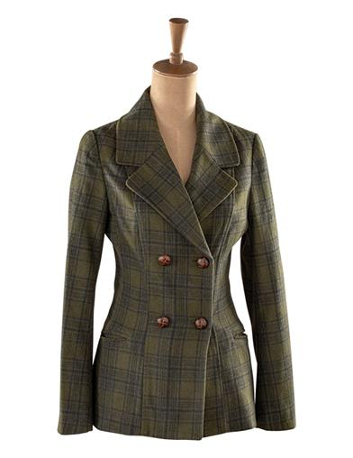 1940s Coats & Jackets Fashion History Tartan Fields Riding Jacket Size XS by Victorian Trading Co $189.95 AT vintagedancer.com