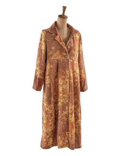 Victorian Clothing, Costumes & 1800s Fashion Cottage Rose Wool Long Coat Extra Size 2XL by Victorian Trading Co $219.95 AT vintagedancer.com