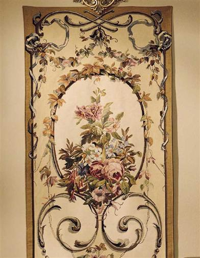 FRENCH BOUQUET TAPESTRY