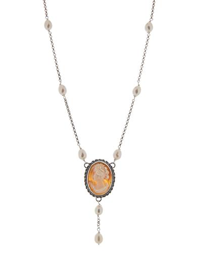 Cameo Y Necklace