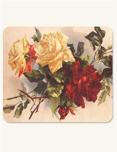 VICTORIAN MOUSEPAD (ROSES)