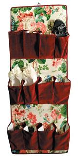 Chintz Shoe Caddy