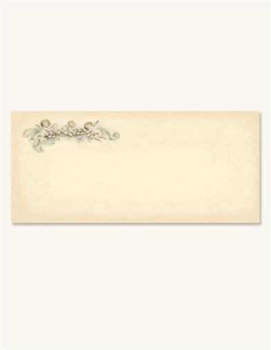 CHERUBS (25 BLANK LETTERHEAD ENVELOPES)