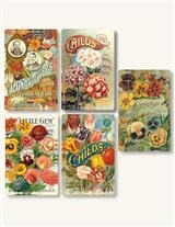 ANTIQUE SEED STICKERS