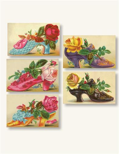VICTORIAN SHOES STICKERS