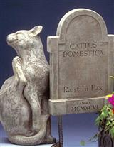 Pet Grave Marker (Cat)