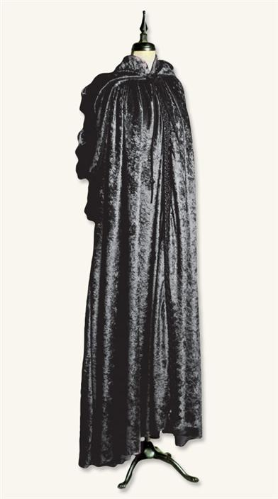 HEROINE'S CAPE (BLACK)