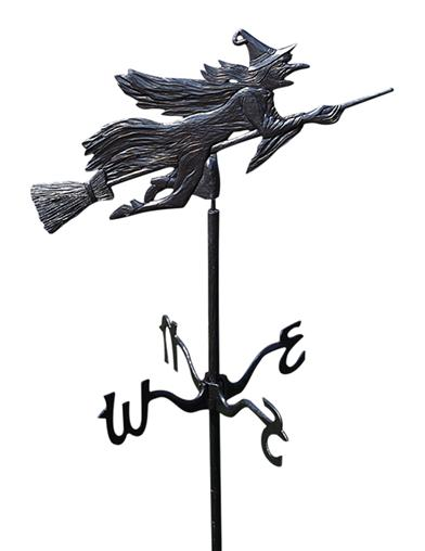 Witch Weathervane (Rooftop)