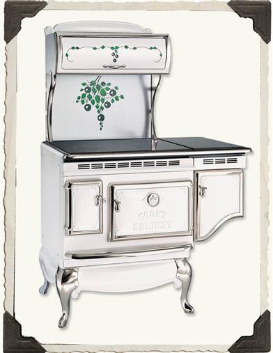 VICTORIAN STOVEWORKS BLUEBERRY STOVE