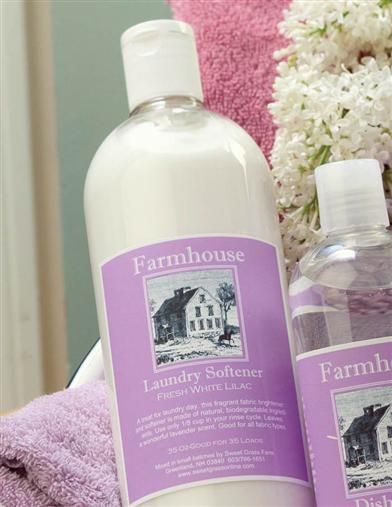 WHITE LILAC LAUNDRY SOFTENER